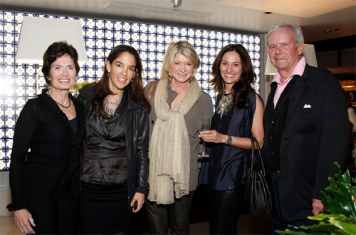 Martha Stewart and Mr. & Mrs. Tom Brokaw attended Hotel Matilda's GALA Opening in San Miguel de Allende
