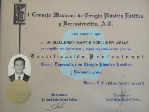 Dr Koelliker certification 8